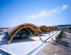 Bodegas Protos - Rogers Timber Architecture, Timber Buildings, Concept Architecture, Amazing Architecture, Contemporary Architecture, Landscape Architecture, Architecture Design, Timber Structure, Building Structure