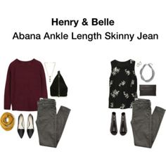 Abana Ankle Length Skinny Jean