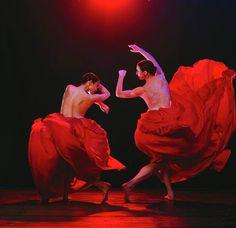 Danse en rouge