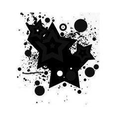 star splatter found on Polyvore