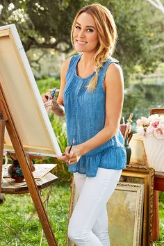 Take a chic peek and Lauren Conrad's May Kohl's collection