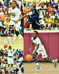 56f2f3b47bb Bronny James is only 13 and almost throws it down!
