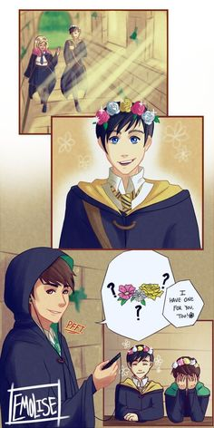 Awwwww but a...Dan's a Gryffindor (or so he says)
