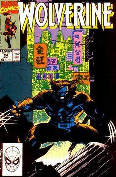 Wolverine Vol. 2 # 24 by Jim Lee