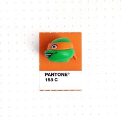 Tiny PMS Match - Fun little site that matches small objects to a PMS color swatch Pantone 158 color match. Michaelangelo, he's one of a kind, And you know just where to find him when it's party time. Pantone Color Match, Pantone Colours, Houston, Pantone Matching System, Pantone Swatches, Texas, Pms Colour, Colour Board, Pin And Patches
