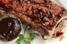 Low & Slow Oven Baked Ribs - Super Simple!. Photo by Delicious as it Looks