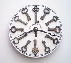 Google Image Result for http://www.lushlee.com/images/home-accessories/09/9/vintage-keys-clock.jpg