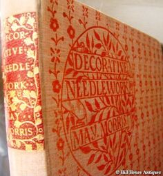 'Decorative Needlework' by May Morris who ran the embroidery section of Morris and Co.