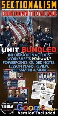History Lesson Plans, Social Studies Lesson Plans, Teaching Social Studies, Teaching American History, American History Lessons, Teaching History, Fort Sumter, The Unit, How To Plan