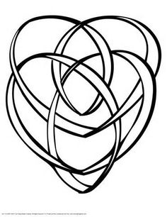 Celtic Motherhood Knot. If and when I do ever get my Rowan Tree tattoo, I want to figure out a way to incorporate this into the roots.