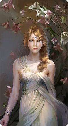 Ali Picture  (2d, fantasy, character, girl, woman, portrait)