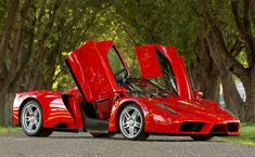 Ferrari only built 400 examples of the Enzo supercar. Today, they easily sell for about $1 million per copy.