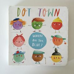Dot Town Where Are You Blue? Such a funny and cute little story! #readthelibrary #kidlit #childrensbooks #lovethelibrary📚 #libraryfinds #dottown #read