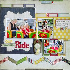 Our Favorite Ride - Summer Fresh - Simple Stories by Jill