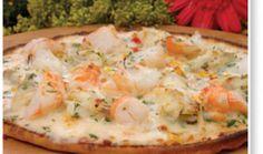 Shrimp and Blue Crab Pizza!-