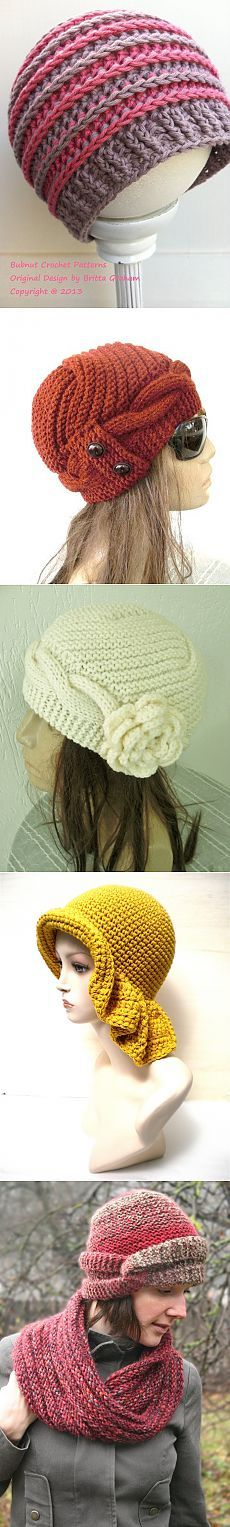 This Pin was discovered by Gen Bonnet Crochet, Crochet Beanie, Cute Crochet, Crochet Yarn, Knitted Hats, Loom Knitting, Knitting Patterns Free, Crochet Patterns, Cute Hats