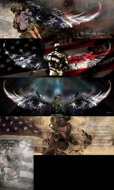 Get FIVE of our Military Images for just $60.00. This bundle includes THREE Huge 12x36 Prints. Titles: (American Soldier, Rescue, The Guardian). Also included in the bundle is a 12x18 Stand & Salute p