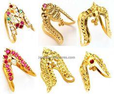 Gold Finger Ring Design For Ladies