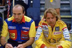 Frank Williams and Keke Rosberg, Williams