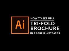 Adobe Illustrator Tutorial: How To Create A Tri-fold Brochure