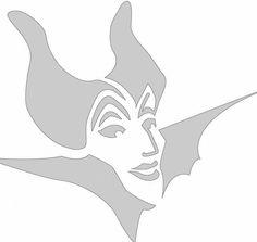 disney pumpkin stencils | Disney Pumpkin Carving Patterns: Maleficent | Playsational