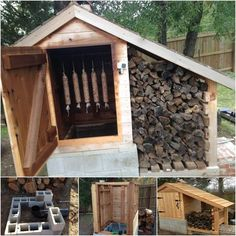 Creative Ideas - DIY Cedar Smokehouse | iCreativeIdeas.com Follow Us on Facebook --> https://www.facebook.com/iCreativeIdeas