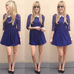 Blue! (by Sophia Abrahão) http://lookbook.nu/look/4351153-Blue