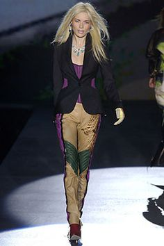 Roberto Cavalli Fall 2003 Ready-to-Wear Fashion Show: Complete Collection - Style.com