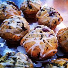 Cherry Chocolate-chip Muffins