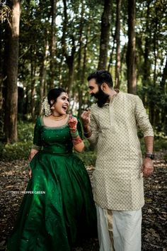Kerala Engagement Dress, Engagement Dress For Bride, Couple Wedding Dress, Engagement Outfits, Wedding Dresses, Long Skirt And Top, Jute Silk Saree, Function Dresses, Indian Wedding Photography Poses