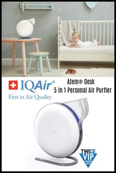 Create Your Own Personal Clean Air Zone With The Atem® Desk 5 in 1 Personal Air Purfier ~ Deliciously Savvy Personal Air Purifier, Commute To Work, Work Desk, Dust Mites, Kids Health, Desk Accessories, Live Life, Breathe, Create Your Own