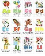 vintage flashcards 1955 alphabet