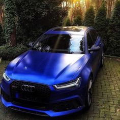 A spectacular blue morning: #Sepangbluematte #Audi #RS6 of AudiSport race driver #ReneRast oooo @rene_rast oooo are you #audidriven? - for repost & like oooo #AudiRS6 #blueAudi #quattro #quattroGmbH...