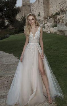 Courtesy of Dany Mizrachi Wedding Dresses; Wedding dress idea.