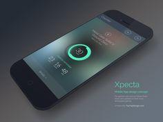 Xpecta mobile app counter