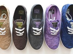 Civic Duty transforms Tyvek into trendy recyclable sneakers.