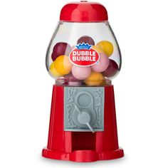 Mini Classic Red Gumball Dispenser (Pack of Wedding Favours To Make, Edible Wedding Favors, Wedding Gifts For Guests, Personalized Chocolate, Candy Dispenser, Guest Gifts, Gumball Machine, Edible Gifts, Bar