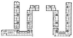 1929-1932. Иваново-Вознесенск. Дом-коллектив. И. Голосов. План.