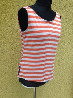 upper palatinate rocks: REWORK 2015 dress orange striped