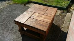 Rustic Coffee Table #7