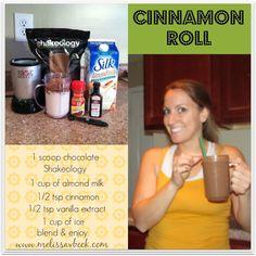 Whole Body Fitness Cinnamon Roll Shakeology
