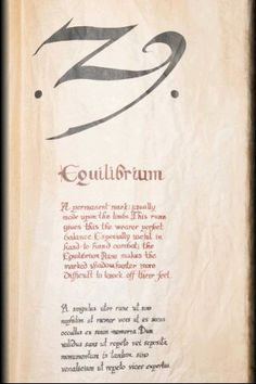 Equilibrium,The Mortal Instruments
