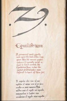 Equilibrium,The Mortal Instruments