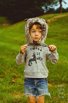 Raised By Wolves Sweater by girl like the sea