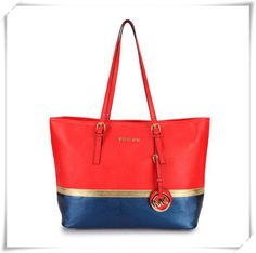 Michael Kors stylish brilliant color shoulder bag