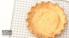 The Trick to a Perfectly Baked Pie Shell - Kitchen Conundrums with Thoma...