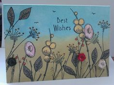 My own card design using Jofy stamps from PaperArtsy