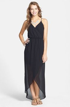 Lush Tulip Hem Maxi Dress available at #Nordstrom - Love the style of this maxi (ARC)