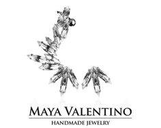 Swarovski ear cuff Silver ear cuff crystal ear by MayaValentino Climbing Earrings, Silver Ear Cuff, Jewelry Model, Swarovski Crystal Earrings, Cuff Earrings, Wedding Trends, Wedding Ideas, Bridesmaid Earrings, Selling Jewelry
