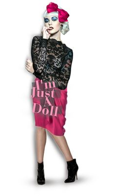 """""""I'm Just A Doll"""" by tatiana-spencer ❤ liked on Polyvore"""
